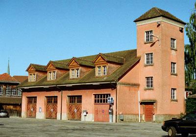 Probelokal im alten Feuerwehrmagazin Markthallenplatz
