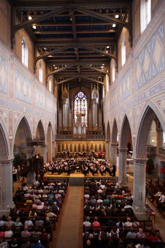 EMF 2011: Musik in der Kirche St. Laurenzen