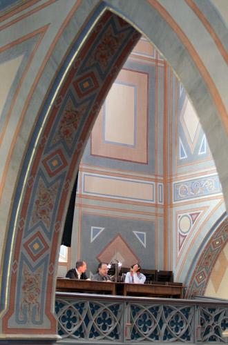 EMF 2011: Jury in der Kirche